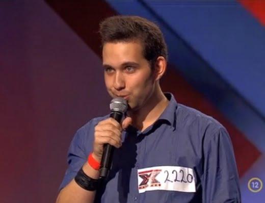 Az éneklés öröme: Vig Dániel az X-Faktorban