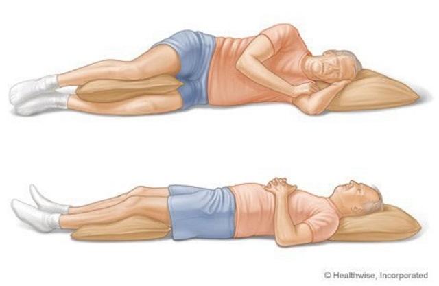 Ez a 2. legjobb pozíció a jó és nyugodt alváshoz!