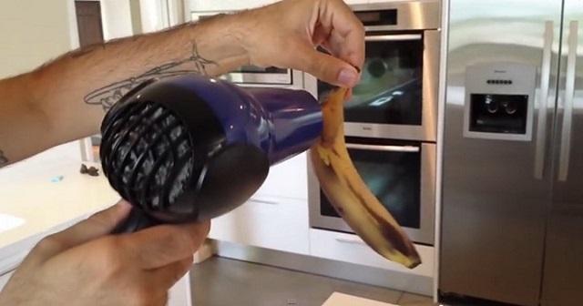 Ez aztán az ötletes megoldás! Így kell egy régi, megfeketedett banánból friss gyümölcsöt varázsolni!