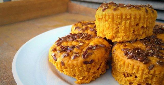 Gyulladáscsökkentő kókuszos, édes burgonyás, gyömbéres muffin – Imádni fogja az egész család!