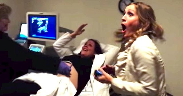 Ultrahangos vizsgálaton vesz részt a terhes nő, amikor a testvére észreveszi, hogy valami nincs rendben a képernyőn… – VIDEÓ