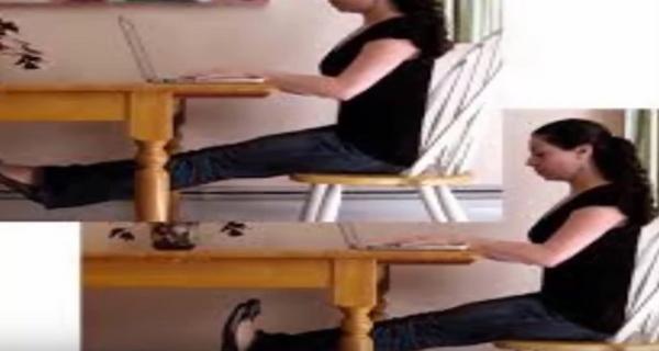 4 gyakorlat ülve, amely hatékonyan égeti a zsírpárnákat, akár a munkahelyeden is végezheted!