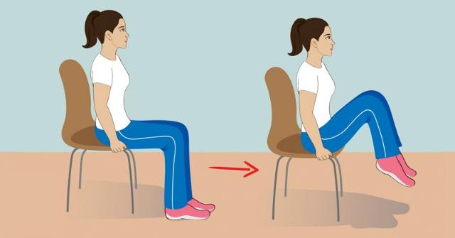 5 gyakorlat ülve, hogy megszabadulj a hasi zsírtól, miközben dolgozol!