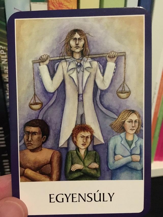 A csakra kártya szombati üzenete - Teremtsd meg az Egyensúlyt!