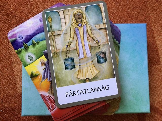 A csakra kártya keddi üzenete - Hagyd, hogy a dolgok maguktól alakuljanak!