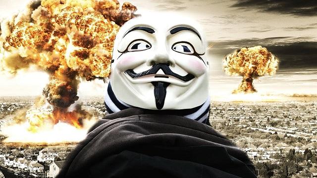"""Az Anonymous figyelmeztet: """"Hamarosan kitör a harmadik világháború!"""""""