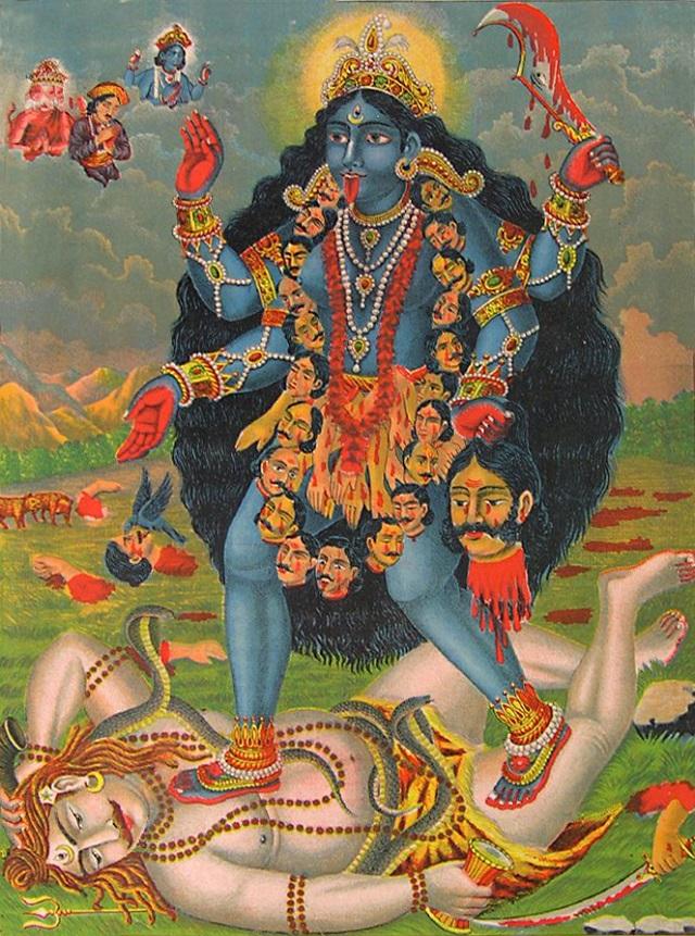 2017 numerológiája: Ez az év Kali éve lesz, ő a Vég és a Kezdet Istennője!