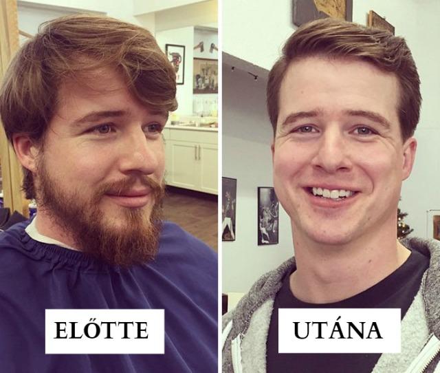 10+ férfi, borotválkozás előtt és után, akikről nem fogod elhinni, hogy ugyanazok a személyek