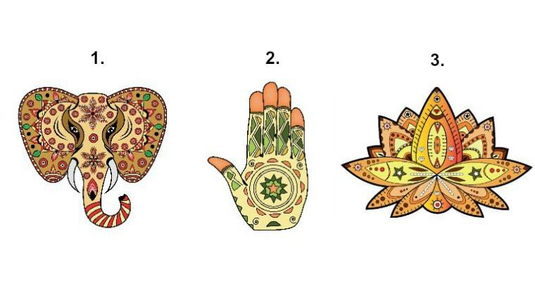 Válassz egy ábrát a 3 közül és olvasd el az Univerzum üzenetét