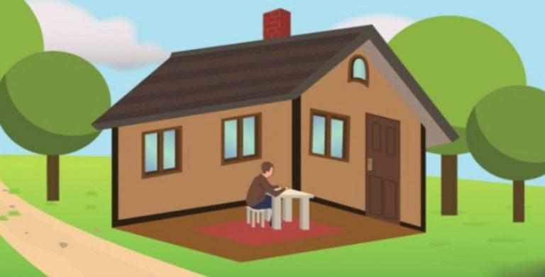Személyiségteszt: a férfi a házban vagy a házon kívül van? A válaszod sok mindent elárul rólad!