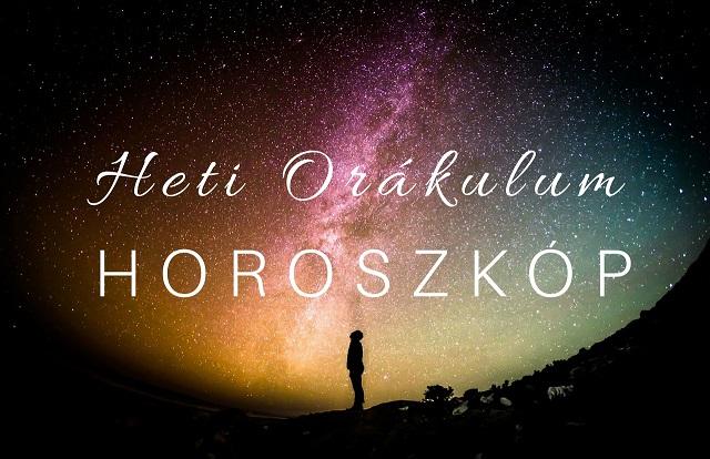 Orákulum horoszkóp 2018. október 15-21. között!
