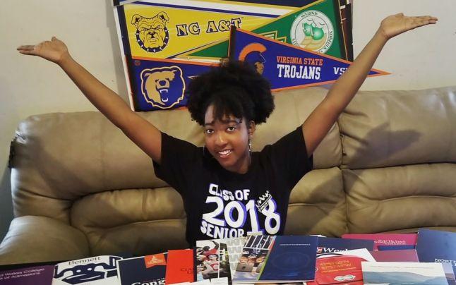 113 egyetemre vették fel a 17 éves amerikai lányt. Ezt a szakot választotta
