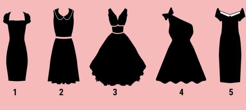 Válassz egy ruhát az 5 közül, meglepő dolgokat árulunk el rólad