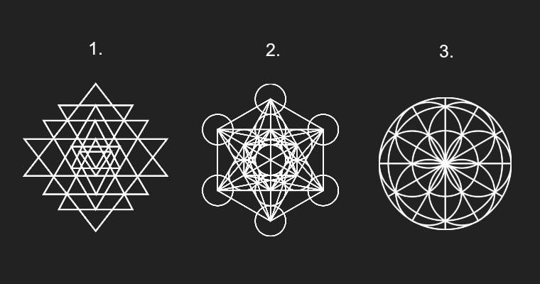 Válassz egy geometriai alakzatot, hogy megtudd, mivel tudod kivágni magadról a negatív energiákat!