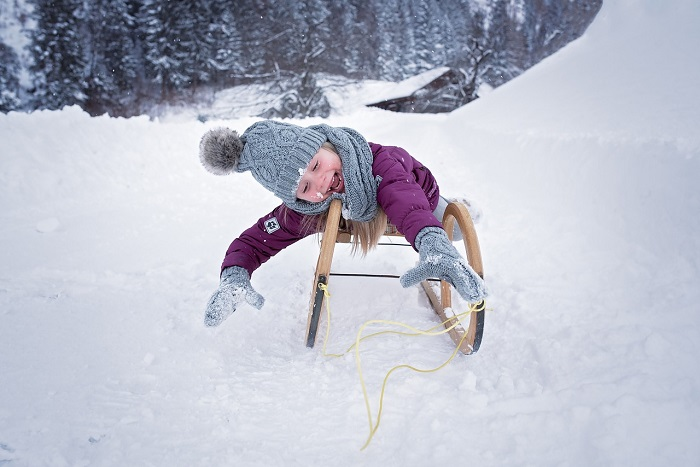 A hideg nem betegít meg! A gyereknek télen is a lehető legtöbbet kellene kint lennie