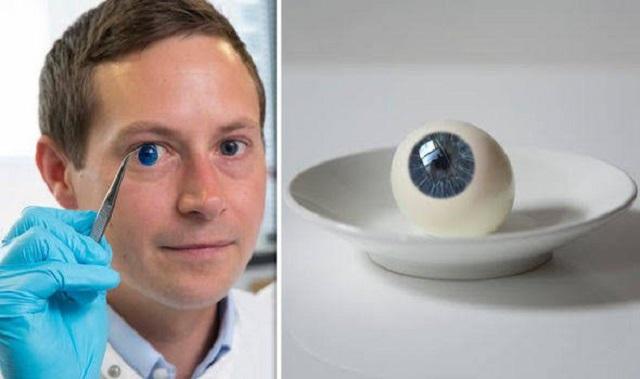 Forradalmi találmány: 3D-s nyomtatóval készítenek emberi szaruhártyát, amivel emberek millióinak adják vissza a látását