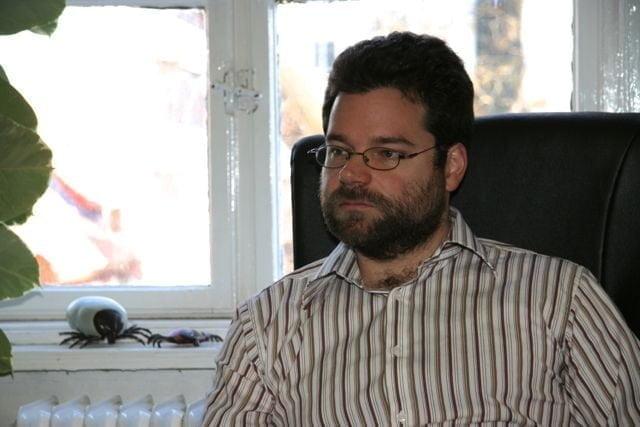 Dr Földvári Gábor az egyetemen