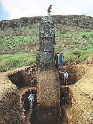 Fotó: Easter Island Statue Project