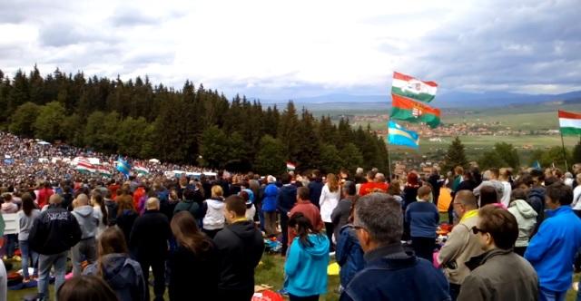 Így imádkozott több százezer magyar ember a Csíksomlyói búcsún! – VIDEÓ