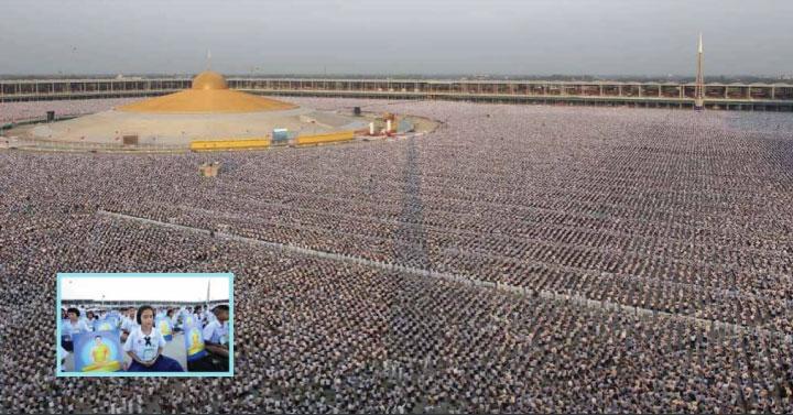 1 millió thaiföldi gyermek meditál egyszerre a világbékéért
