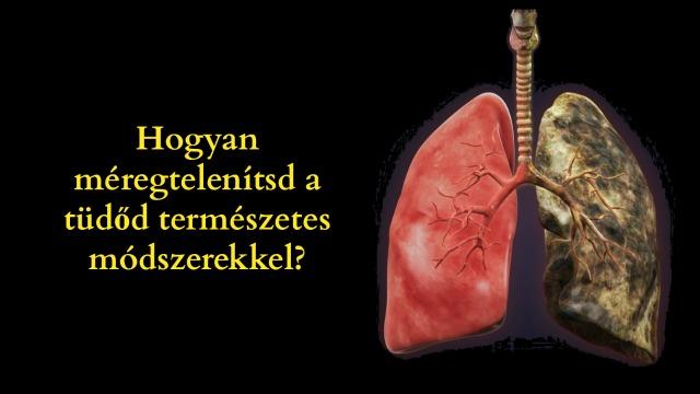 Hogyan méregtelenítsd a tüdőd természetes módszerekkel?