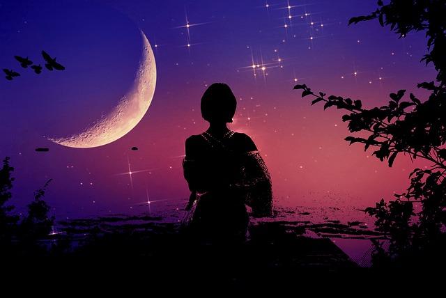 Ilyen hatással van a Hold egy nő testsúlyára és hangulatára