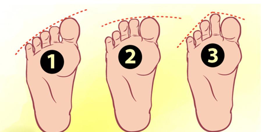 A lábad és a lábujjaid formája sok mindent elárul a személyiségedről. Te mit olvasol le a tiédről?
