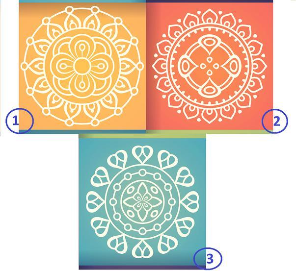 Melyik mandala tetszik a legjobban? Választásod elárulja a különleges képességeid!