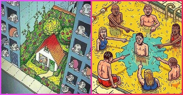 10 megdöbbentő illusztráció a 21. század értékeiről!