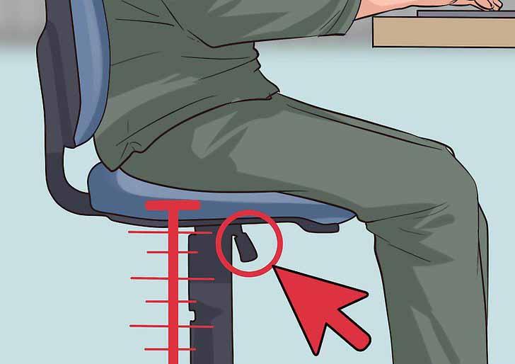 Így kell helyesen ülnöd a széken, ha el szeretnéd kerülni a hátfájást!