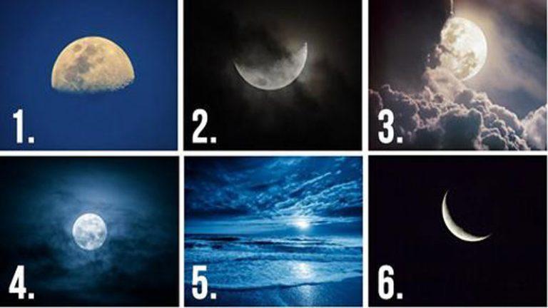 Válassz egy Holdat, igen meglepő dolgot fog elárulni rólad