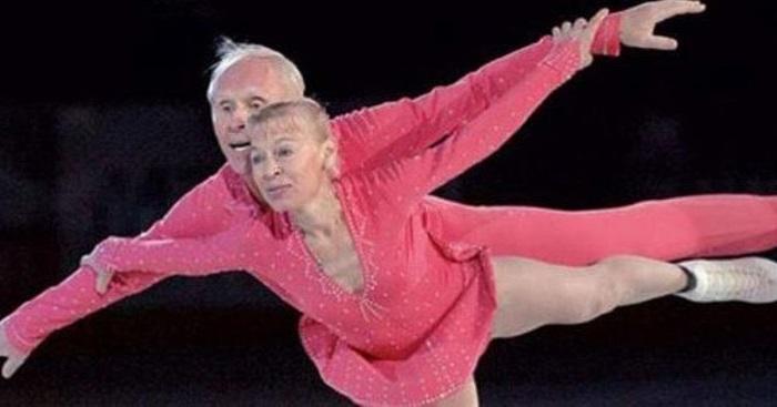 83 illetve 79 évesek voltak, amikor ismét jégre léptek – az olimpiai bajnok férj és feleség …